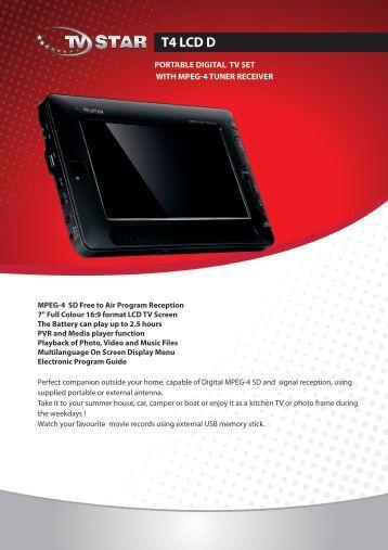 T4 LCD D - TV STAR
