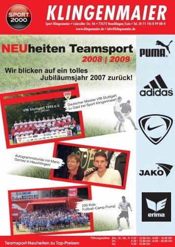 Ihr Teamsport Spezialist NEU - Sport Klingenmaier