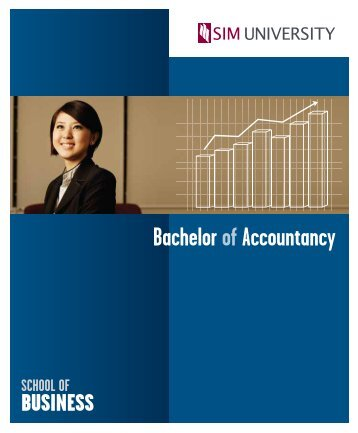 bachelor of accountancy - SIM University