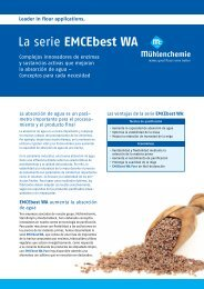 Español (413 KB) - Mühlenchemie GmbH & Co. KG