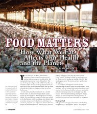 How What We Eat Affects Our Health and the Planet - Center for a ...