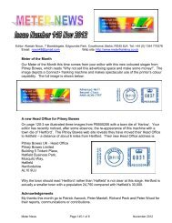 Meter News Issue 145 - Meter Franking