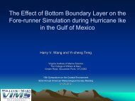 Wang -- The Effect of Bottom Boundary Layer Dynamics on the ...