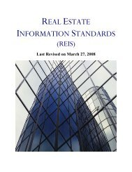Table of Contents - Pension Real Estate Association