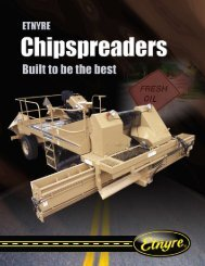 ChipSpreader - ED Etnyre & Co.
