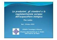 Le produzioni, gli standard e la regolamentazione europea dell ...