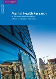 Mental Health Research - Institute of Health Sciences - The ...