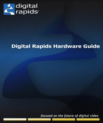 Digital Rapids DRC PCI Card Installation - Visionary Forces