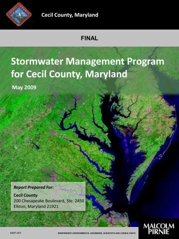 Stormwater Management Program Final Document - Cecil County ...