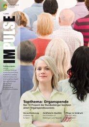 Organspende Organspendeausweis - Klinikverbund Südwest Gmbh