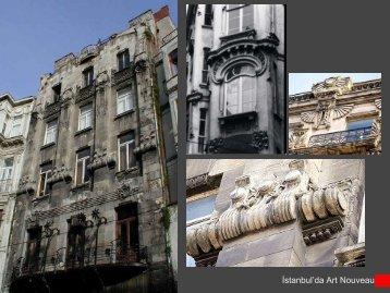 Ä°stanbul'da Art Nouveau