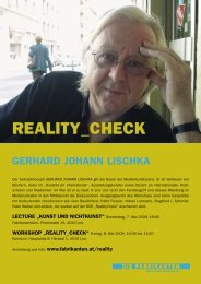 REALITY_CHECK Magazin eBook (pdf=1.819,39kB) - Die Fabrikanten