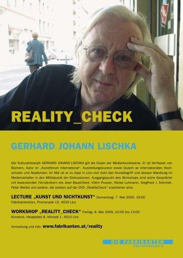 REALITY_CHECK Magazin eBook (pdf=1.819,39kB) - Die Fabrikanten