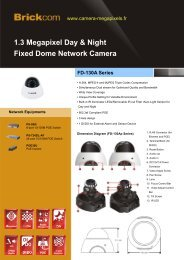 1.3 Megapixel Day & Night Fixed Dome Network Camera FD-130A ...