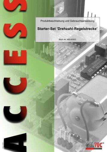 Starter-Set 'Drehzahl-Regelstrecke' - Geltec