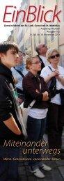 Miteinander unterwegs - Evangelisch-Lutherische Gemeinde St ...