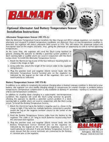 Balmar 12 Volt Alternator Manual Fuji Yachts Website John Deere Alternator Wiring Diagram Balmar Alternator Wiring Diagram