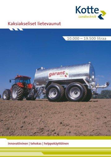 garant Tandem - Kotte Landtechnik
