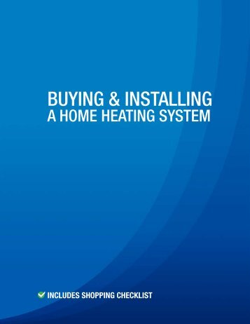 BUYING & INSTALLING - Alpine Home Air Products