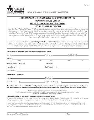 Medical History/Immunization Form/TB Questionnaire - Grambling ...