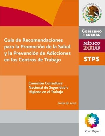 Recomendaciones para la prevención de adicciones en los Centros ...