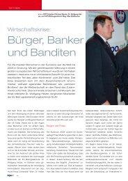 Bürger, Banker und Banditen - Kripo.at