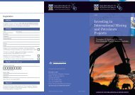 Investing in International Mining and Petroleum ... - Faculty of Law