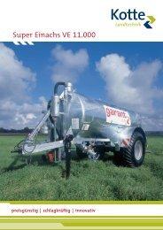 garant Super Einachs VE 11.000 - Kotte Landtechnik