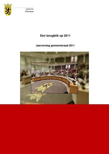 jaarverslag 2011 - Gemeente Schiedam