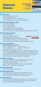 41. Fortbildungswoche in OBERLECH 7.–14. Dezember ... - AWOgyn - Seite 3