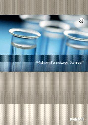Résines d'enrobage Damival® - Von Roll