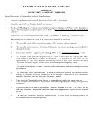 Eight Month Internship Forms/Information - M E Rinker Sr School of ...