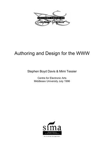 Authoring and Design for the WWW