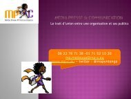 Media presse & communication - Media Presse et Communication