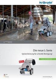 Die neue L-Serie - Kränzle Hochdruckreiniger AG