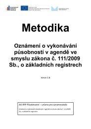 Metodika oznameni pusobnosti.pdf - Správa základních registrů