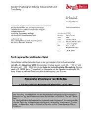 Senatsverwaltung für Bildung, Wissenschaft und Forschung ...