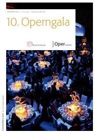S on der b eil a ge z u r 1 0 . O p e rn g a la - Oper Frankfurt