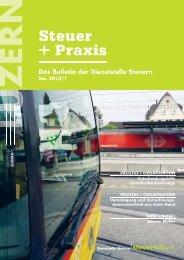steuer praxis 2013 01 - Steuern Luzern - Kanton Luzern
