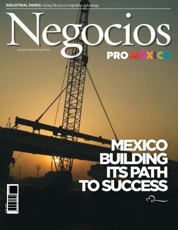 MEXICO BUILDING ITS PATH TO SUCCESS - ProMéxico