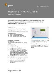 Flygt FGC 313-31 - Xylem Water Solutions Deutschland GmbH
