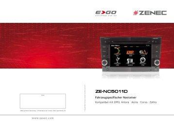 INSTALLATIONSANLEITUNG ZE-MC5600 Firmware ...