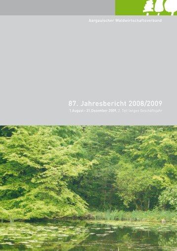 87. Jahresbericht 2008/2009 - AWV
