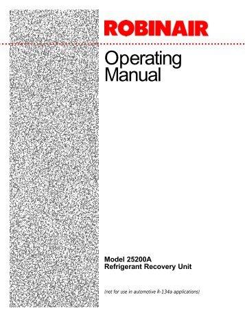 Operating Manual - NY Tech Supply