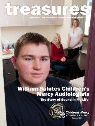 William Salutes Children's Mercy Audiologists