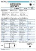 data sheet DW - A - 40 - C5 - Page 3