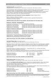 Hotels und Pensione in der Region Zug (Auswahl)