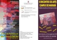 folder arte marabá - Universidade Federal do Pará