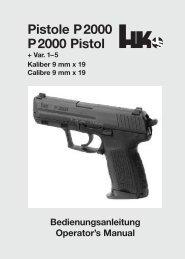Pistole P2000 P2000 Pistol - Frankonia