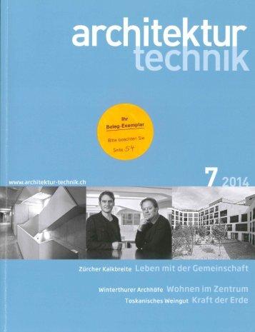 architektur technik 7/14